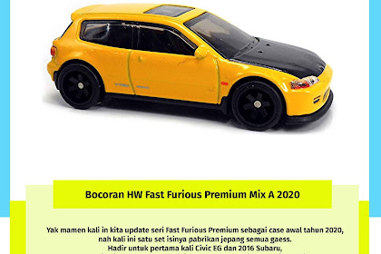 Hot Wheels Fast Furious Premium Mix A 2020 : Fast Tuners