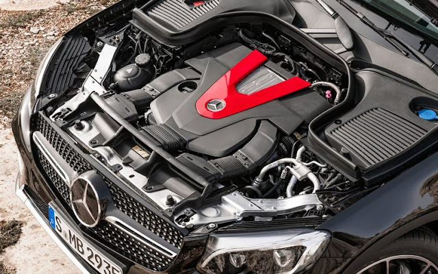 2017 performance Mercedes-AMG GLC43