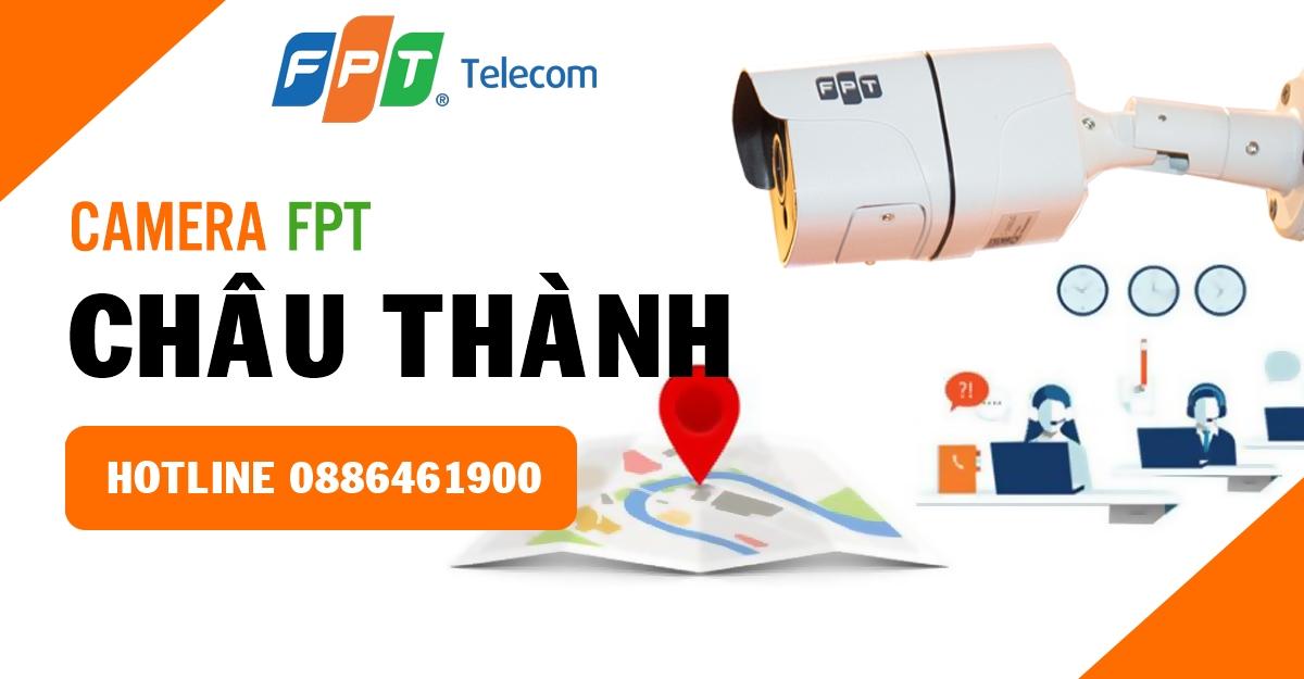 Bảng giá lắp đặt camera ở Châu Thành - [FPT Camera]