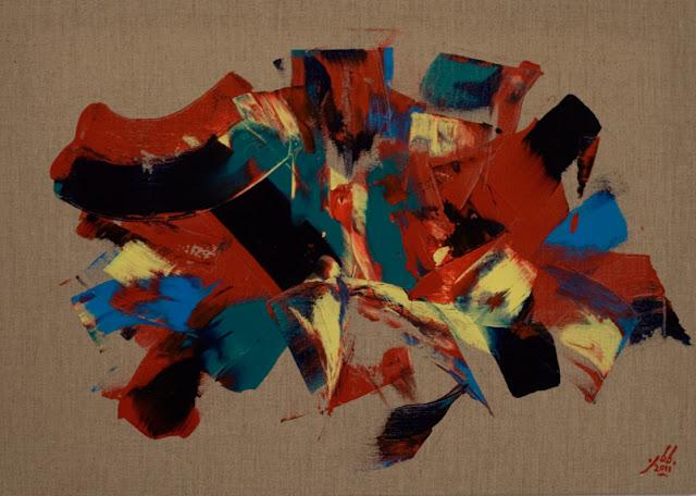 abstraction lyrique jean baptiste besançon artiste peintre