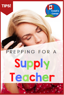 There is nothing worse than being sick and having to prepare for a supply teacher!  Check out this blog post, created especially for Canadian Grade 4, 5 and 6 teachers, detailing how to prepare a Sub Tub of 3 full days of lesson plans and activities ahead of time.