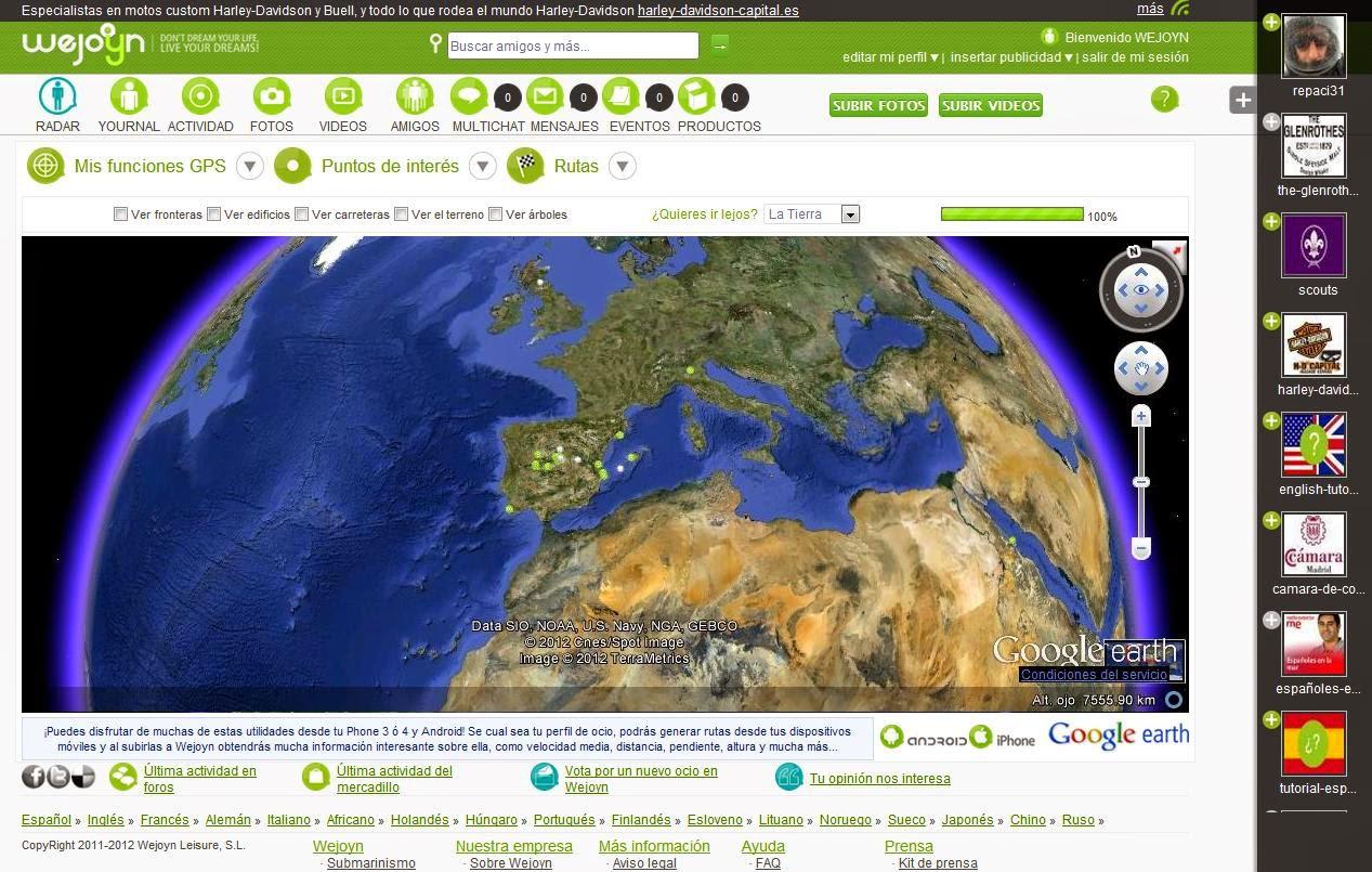 Antena Satélite Wejoyn - Geolocalización - Red Social - Radar personal - Aplicación Geolocalización - Google Earth - Armada Española / OTAN - Operación Atalanta - Álvaro García - ÁlvaroGP - el troblogdita