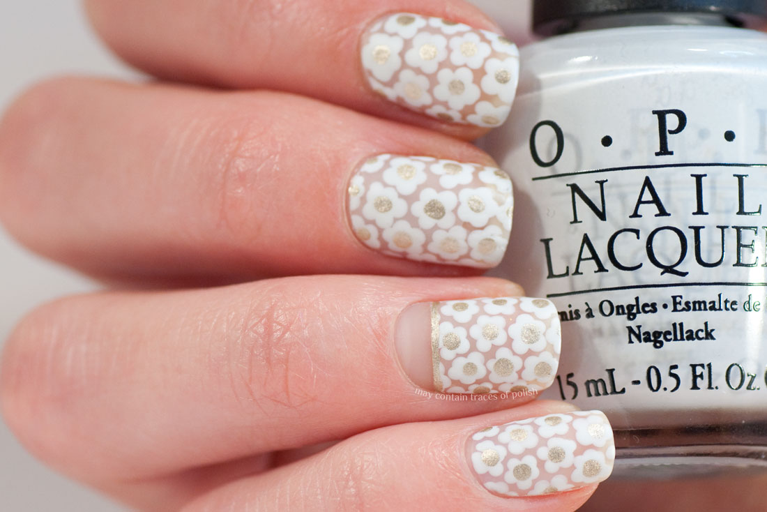 White floral negative space nail art may contain traces of polish i was inspired to do this design after seeing a blouse with a similar pattern on some tv show and figured it would be a simple enough nail art style to do prinsesfo Image collections