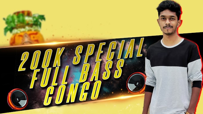 FULL BASS CONGO | BONALU SPECIAL | DJ NIKHIL MARTYN