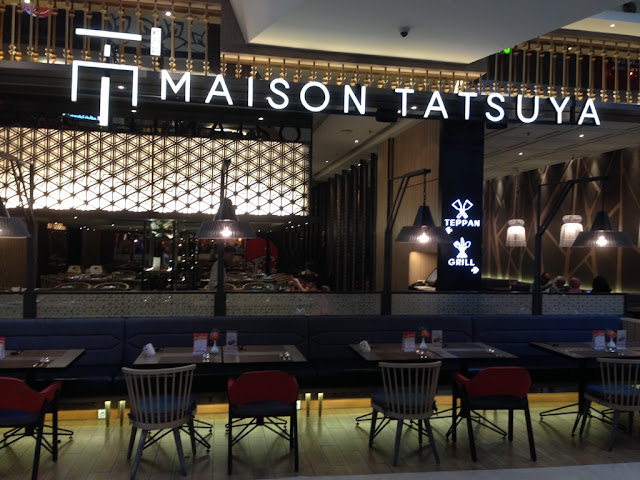 kawan kuliner sedang kuliner di Maison Tatsuya