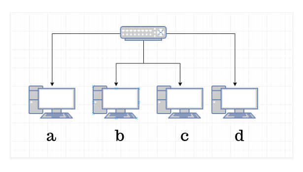 Cara Menghubungkan 4 Komputer dengan HUB / Switch