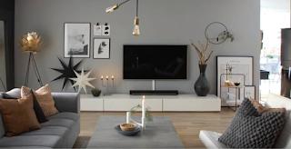 ديكورات خلفية تلفاز من الخشب