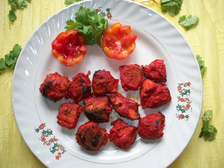 Chicken tikka made in oven yummy tummy forumfinder Image collections