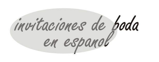 Wedding Invitations Spanish Language
