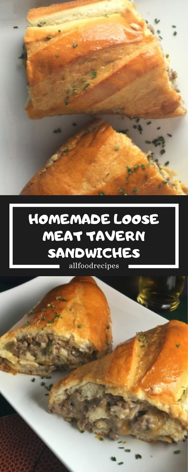 HOMEMADE LOOSE MEAT TAVERN SANDWICHES