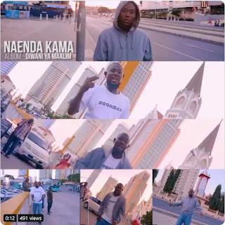 Nash Mc Maalim - Naenda Kama (Official Music Video)
