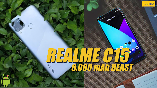 Realme C15 Price in Indonesia & Specification