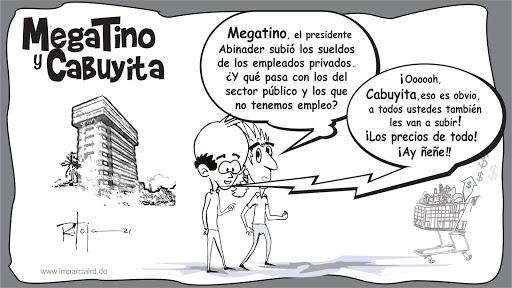 MegaTino y CaBuyita, aumento de sueldo