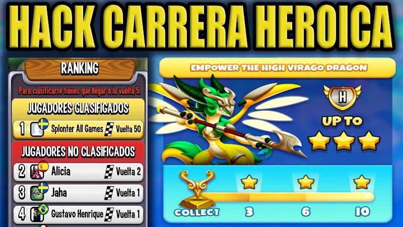 HACK DE LA CARRERA HEROICA LLEGAR VUELTA 50