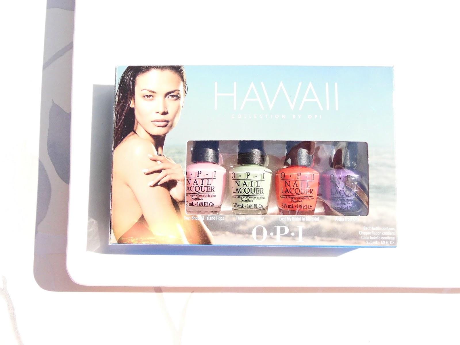 OPI Hawaii Little Hulas Mini Pack