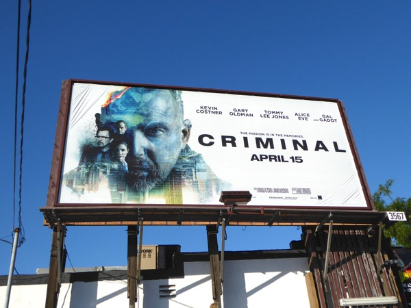 Criminal film billboard