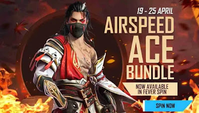 Free Fire Airspeed Ace Bundle Redeem Code For Free