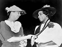 Photo: Eleanor Roosevelt and Marian Anderson