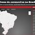 Casos de coronavírus no Brasil