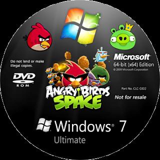 main999 - Windows 7 Ultimate SP1 – Edição Angry Birds x86