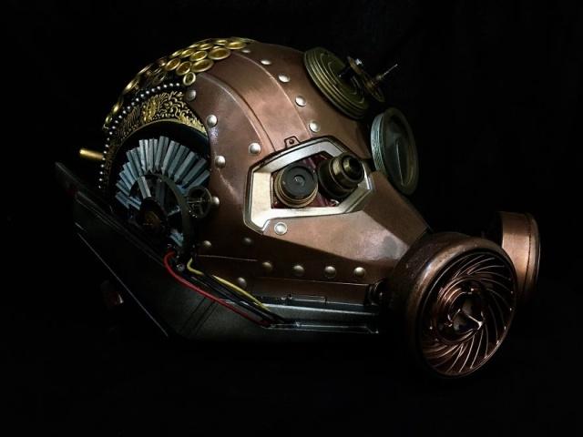 Figura Steampunk Dari Barang Kitar Semula Yang Awesome (16 Gambar)