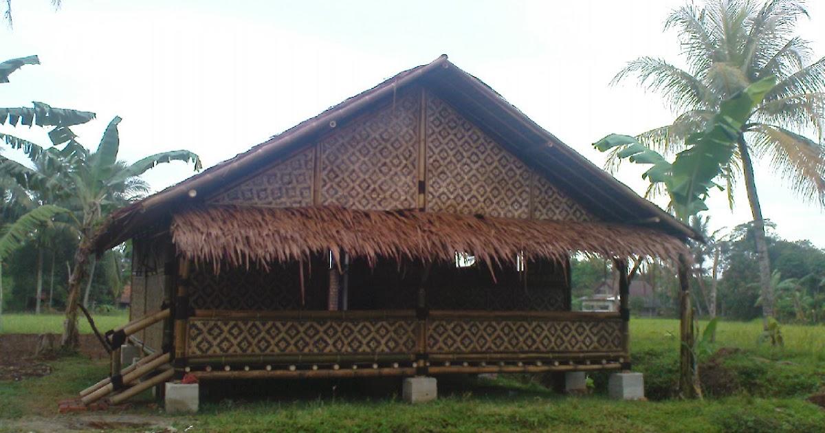 Simak Rumah Bambu Jaman Dulu, Paling Populer!