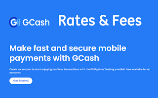 GCash Rates – Charges and Transaction Fees 2021