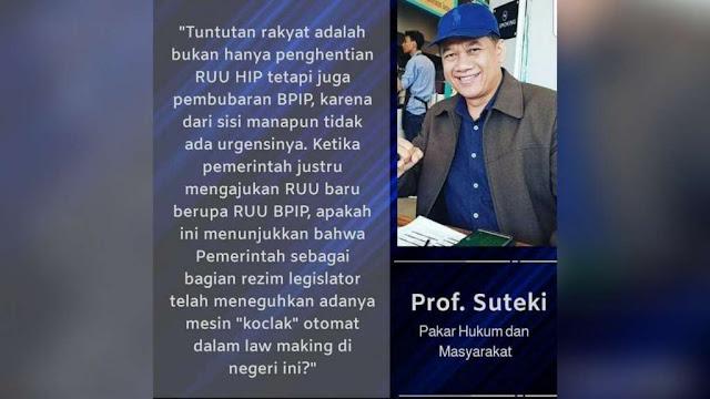 Prof. Dr. Suteki, S.H., M.Hum.
