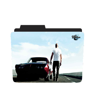 Fast and Furious 6 movie folder icons