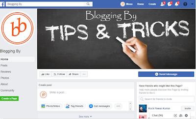 Facebook Page को Blog में Add करें