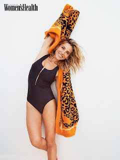 Elsa Pataky at Women's Health UK Magazine, March 2019 Issue
