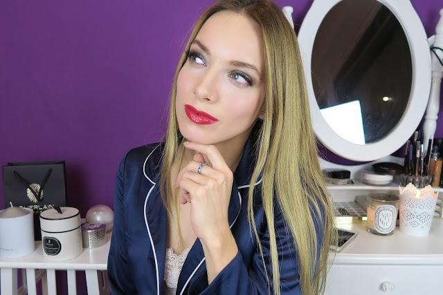 red lipd makeup tutorial