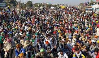 संयुक्त किसान मोर्चा का ऐलान, 6 फरवरी को देशभर में करेंगे चक्का जाम | #NayaSaberaNetwork