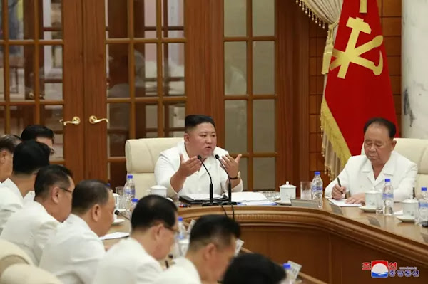 Kim Jong Un guides PB and EPC meetings, August 26, 2020