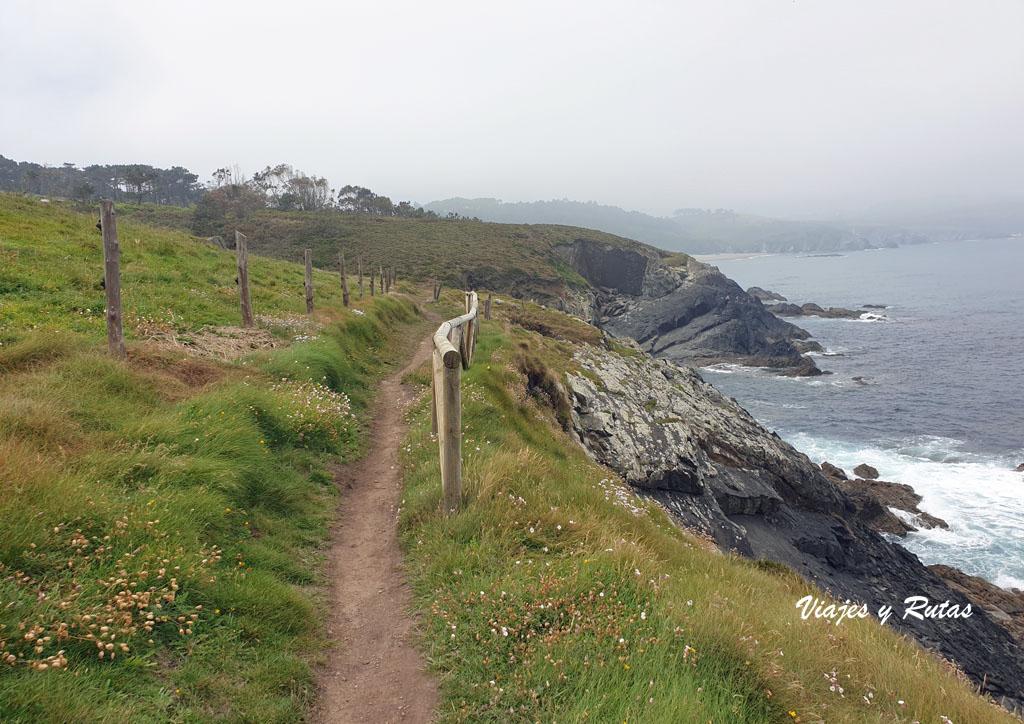 Senda costera Naviega, Asturias