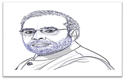 Narendra Modi Drawing
