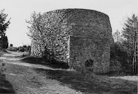 Gotländsk kalkugn från början av 1900-talet