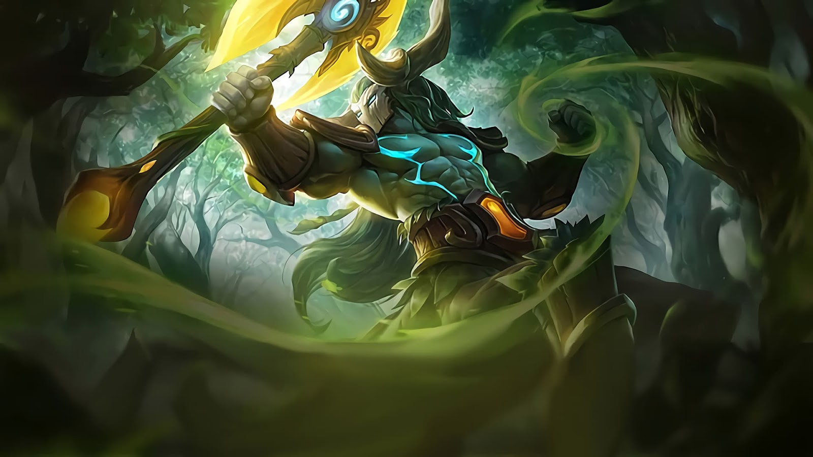Wallpaper Hylos Jungle Watcher Skin Mobile Legends HD for PC