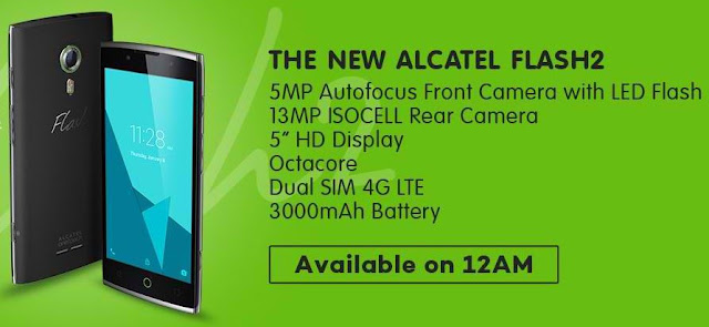 Alcatel Flash 2 flash sale Lazada