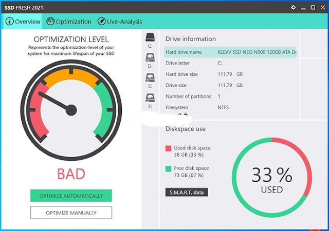 تحميل برنامج Abelssoft SSD Fresh 2021 كامل مع التفعيل