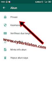 Privasi Whatsapp