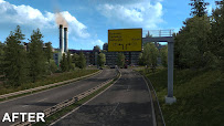 ets 2 realistic signs v1.1 screenshots 2