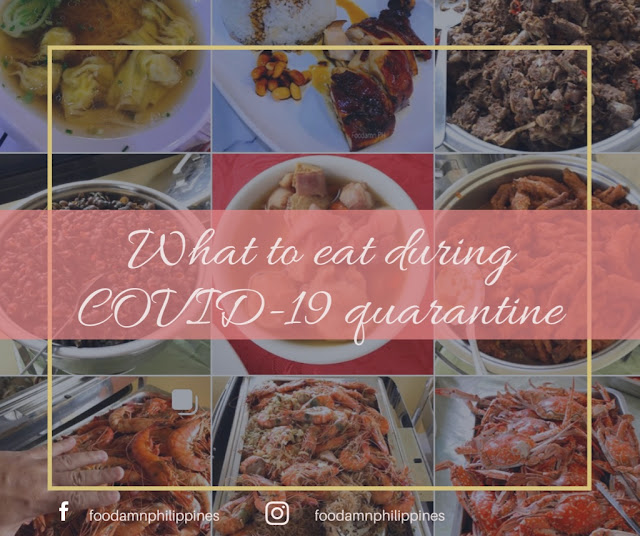 What to eat during COVID-19 quarantine