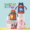 Botol Minum Susu Stainless 3 in 1 Handle Strap 350 ml Vacuum Flask