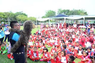 Kak Tony Dongeng di Hari Anak Nasional