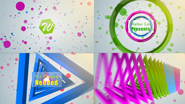 VideoHive Shape Logo Reveal 5 In 1