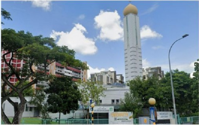 3 Mosques in Singapore were closed due to the Covid-19 case