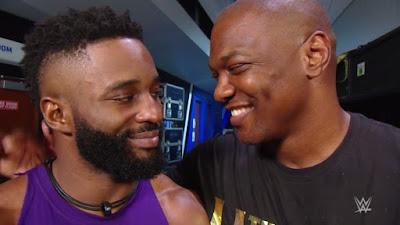 Shelton Benjamin Cedric Alexander WWE Raw Hurt Business