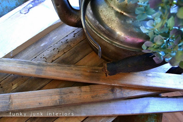 See how these cedar planks about to become a rustic coffee table surface!