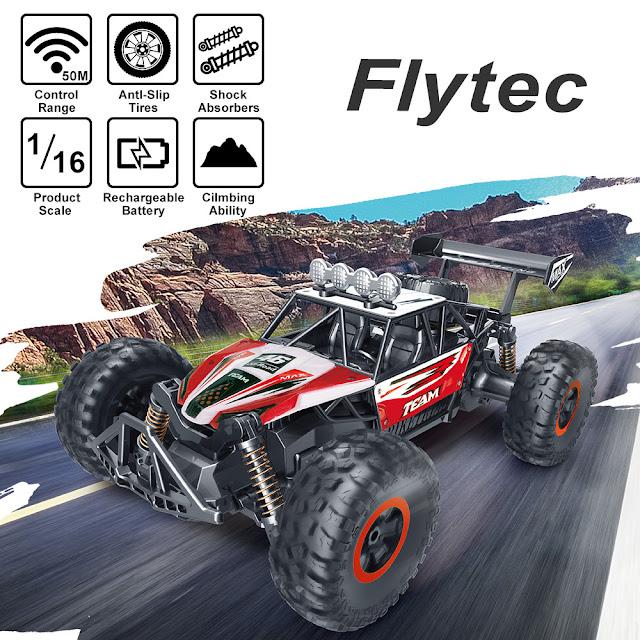 Flytec 6029 1/16 2.4G RWD RC Car Electric Off-Road Vehicle RTR Model
